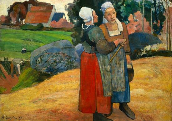 Paul Gauguin   Paysannes bretonnes