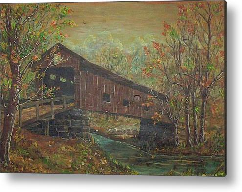Phyllis Mae Richardson Fisher  covered-bridge-phyllis-mae-richardson-fisher
