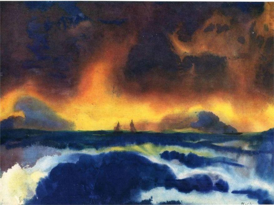 EMIL NOLDE stormy-sea.jpg!HD [1280x768]
