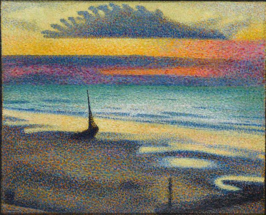 Georges Lemmen  TheBeachArHiest+1891  is [1280x768]