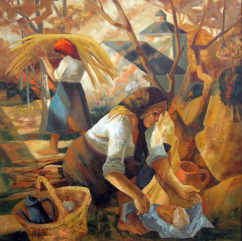 Jean ABabadie   le pain quotidien 80x80cm-800 [1280x768]
