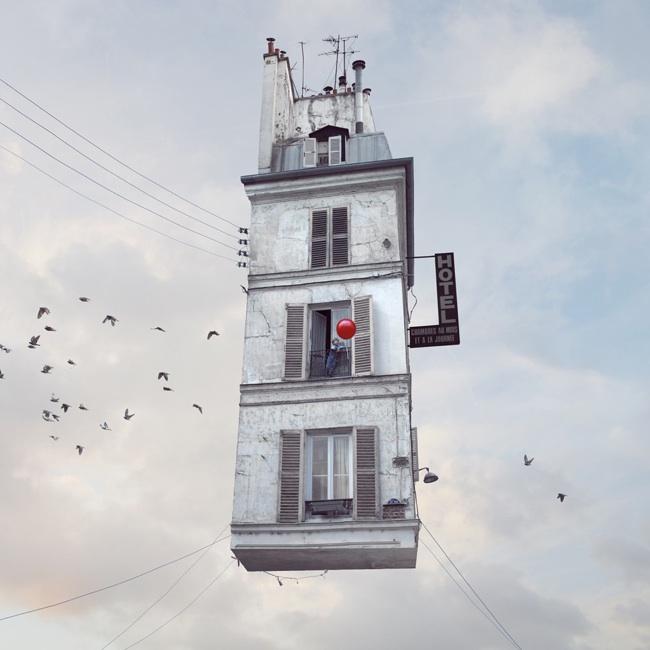 Laurent Chéchère maisons volantes (15)