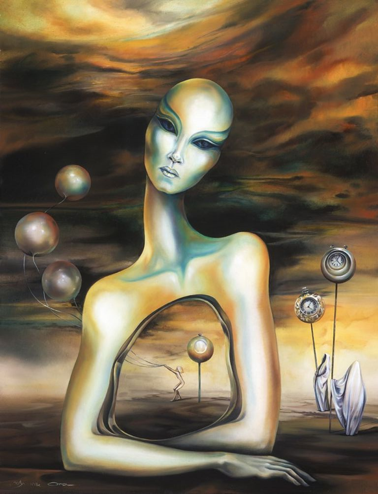 Ora Tamir - Israeli Surrealist painter - Tutt'Art@ (10) [1280x768]
