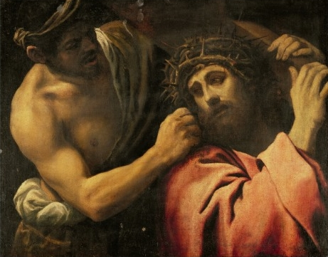 Annibale Carracci christ_carrying_the_cross _512