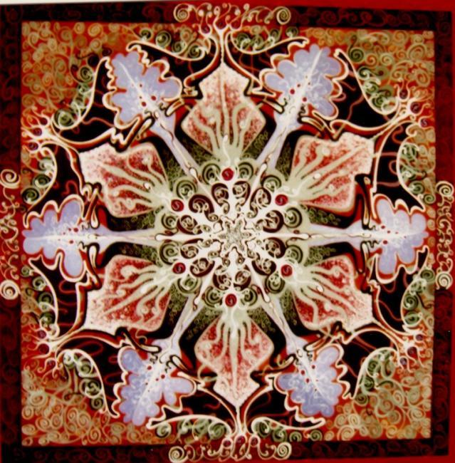 Béatrice Hunckler fractalsmandalas_1501037_Mandala_S_Fleur_barococo