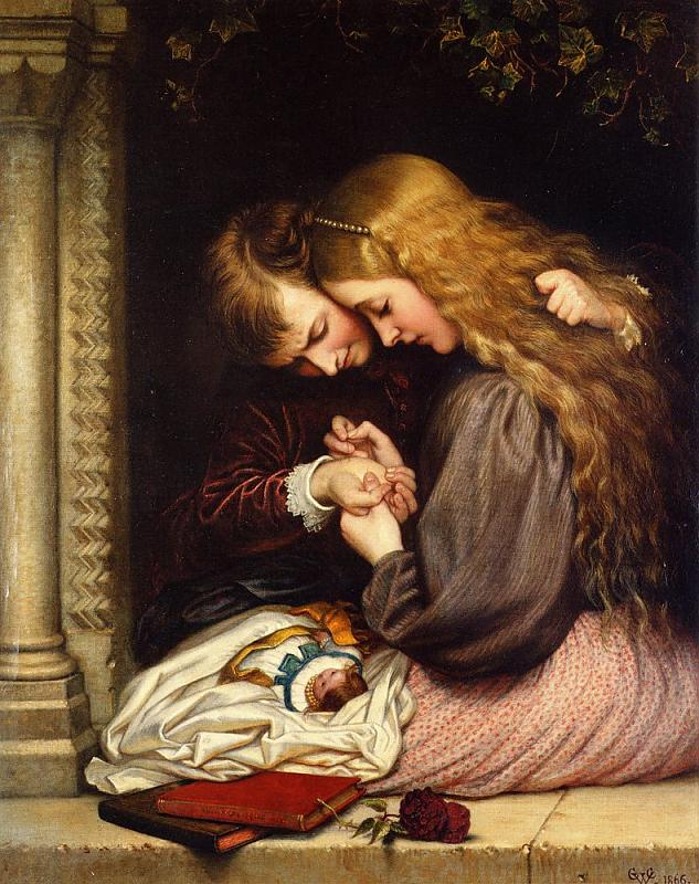 Charles West Cope -« The Thorn »