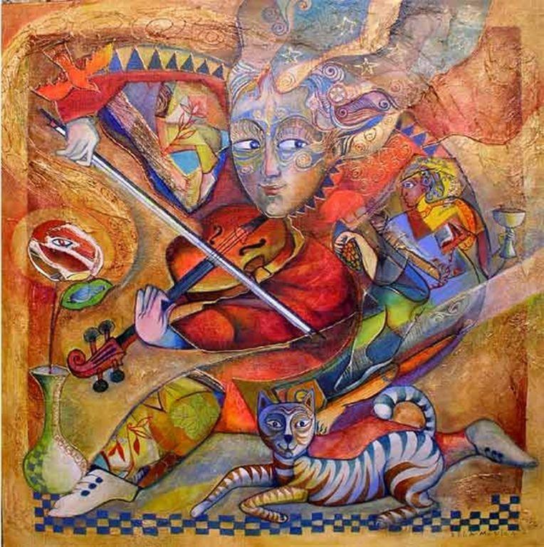 Didier Delamonica - French Mystical Fantasy painter -   (34) [1280x768]