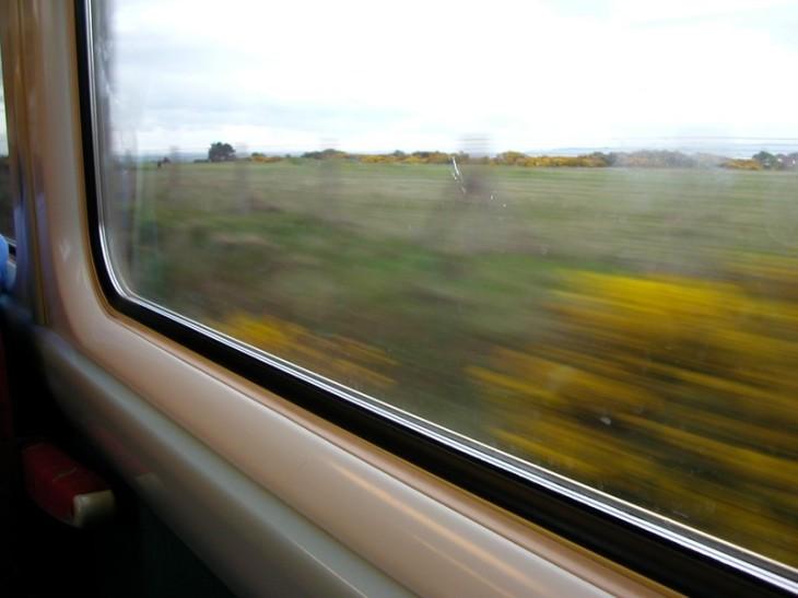 fenêtre train