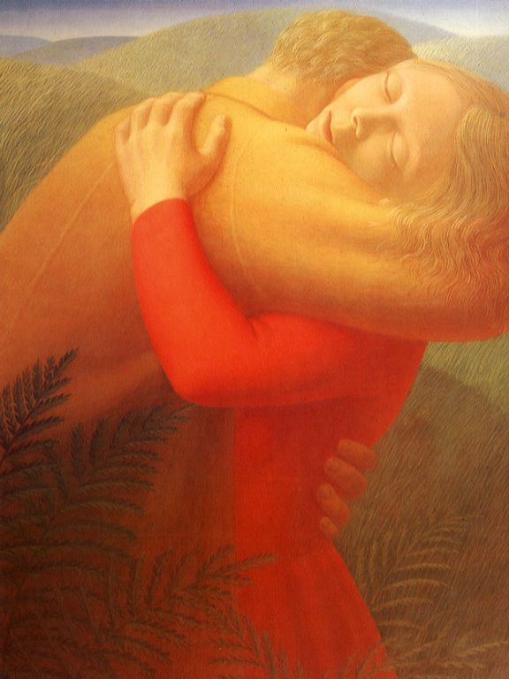 George Clair Tooker   1920-2011 - American Magic Realist painter - Tutt'Art@ (2) [1280x768]