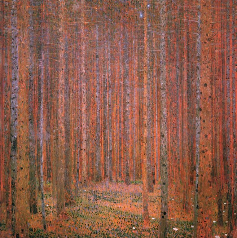 Gustav Klimt   fir-forest-i.jpg!HD [1280x768]