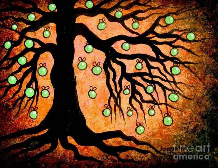 Jordanka Yaretz  green-apple-tree- [1280x768]