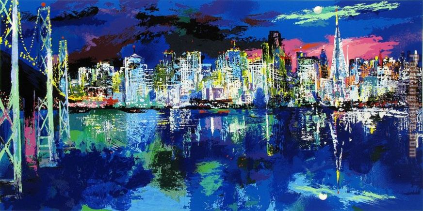 Leroy Neiman San Francisco by Night [1280x768]