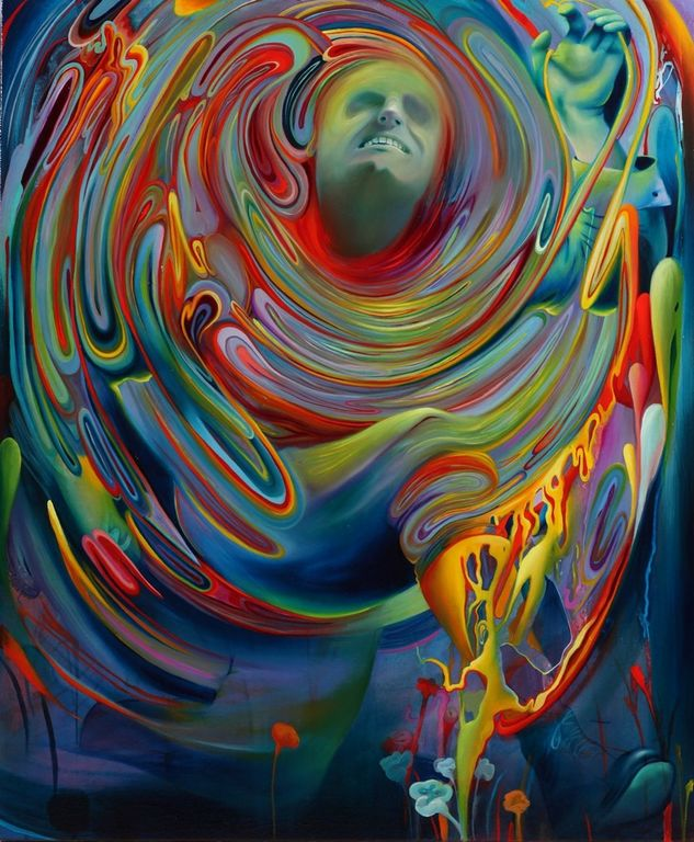 Michael Page   1979 - American Pop Surrealism painter -  (26) [1280x768]