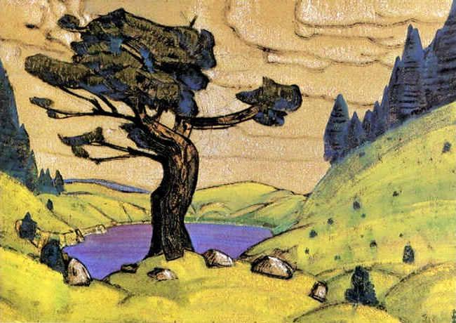 Nicholas Roerich   kiss-the-earth-1912-2