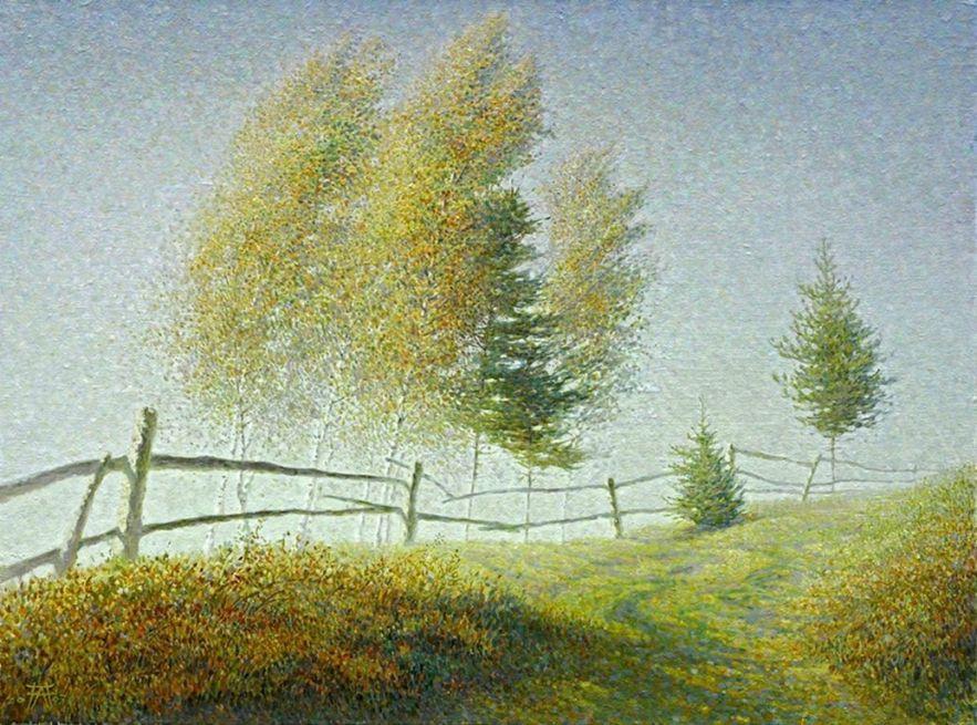 Alexandre Pavlenko 1974 - Ukrainian Pointillist painter (59) [1280x768]