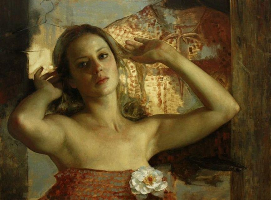 Cesar Santos 1982 - Cuban-born American Figurative painter - Nude Portrait -   (9) [1280x768]