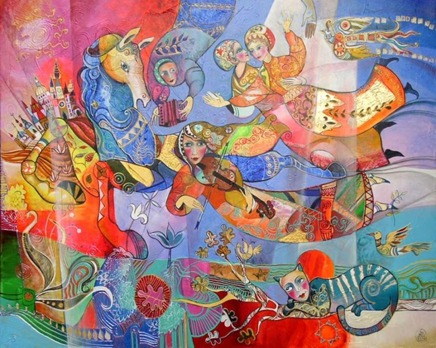 Didier Delamonica - French Mystical Fantasy painter -    (9) [1280x768]
