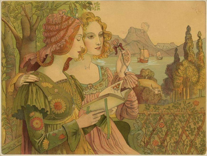 Armand Point  légende dorée via french-painters.blogspot.com [1280x768]