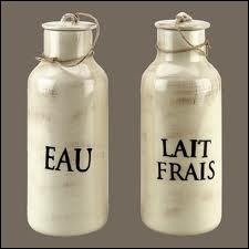 eau lait