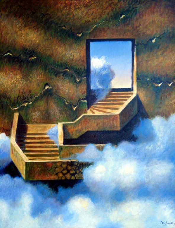 Ernesto Arrisueño 1957 - Peruvian-born Australian painter - Tutt'Art@ (38) [1280x768]