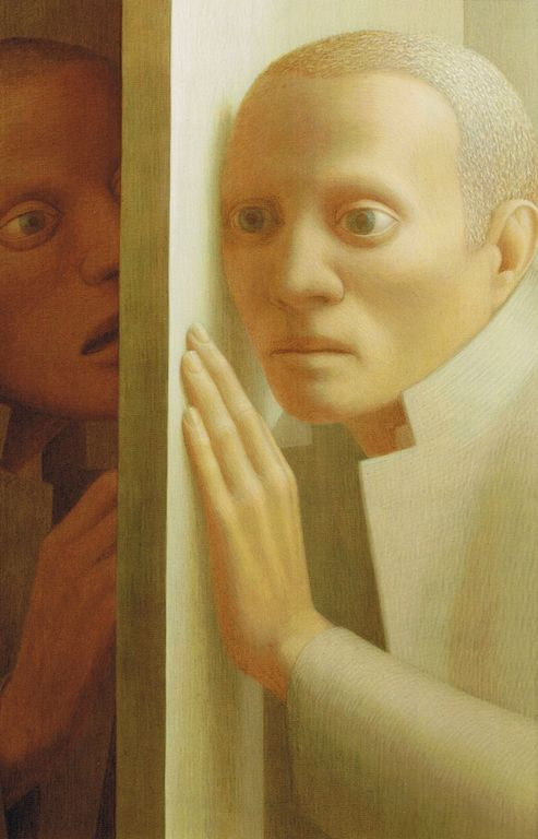 George Clair Tooker 1920-2011 - American Magic Realist painter - Tutt'Art@ (8) [1280x768]