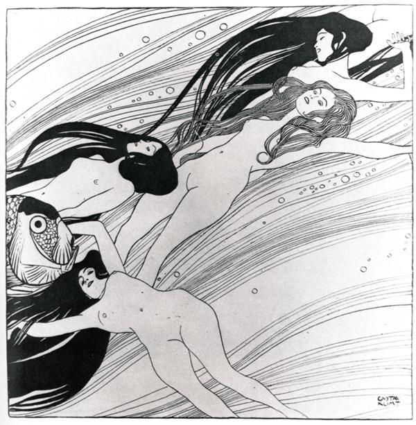 Gustav Klimt fishblood