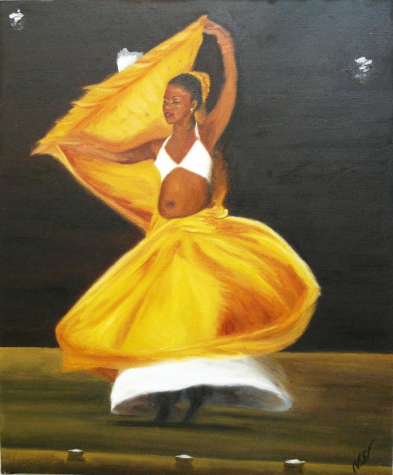 Nicole Berruet danseuse-creole