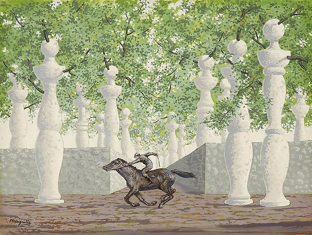 René Magritte jockey perdu  2