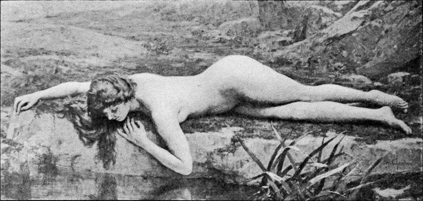 Alexandre Jacques Chantron Le_premier_miroir [1280x768]