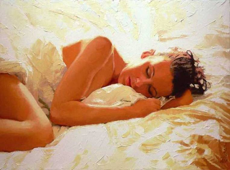 Alexey Slusar 1961- Ukrainian painter - Flamenco dancers - Tutt'Art@ (37)