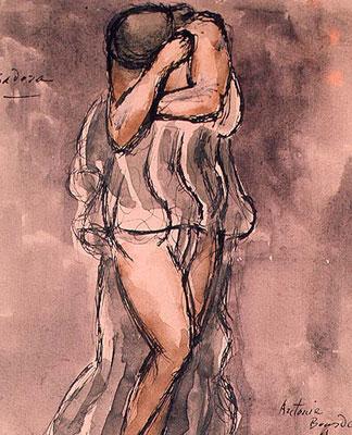 Antoine Bourdelle Isadora Duncan  584