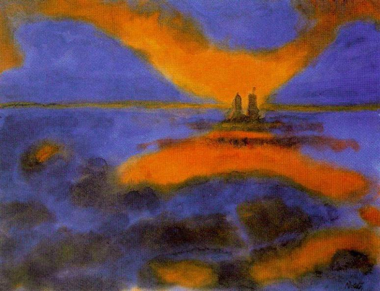 Emil Nolde  -Red_Clouds