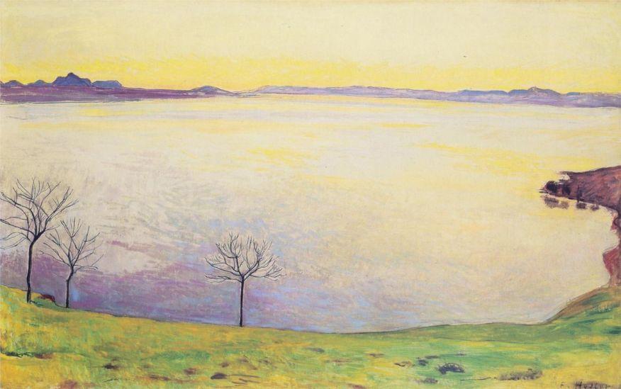 Ferdinand Hodler lake-geneva-in-chexbres-1911.jpg!HD [1280x768]