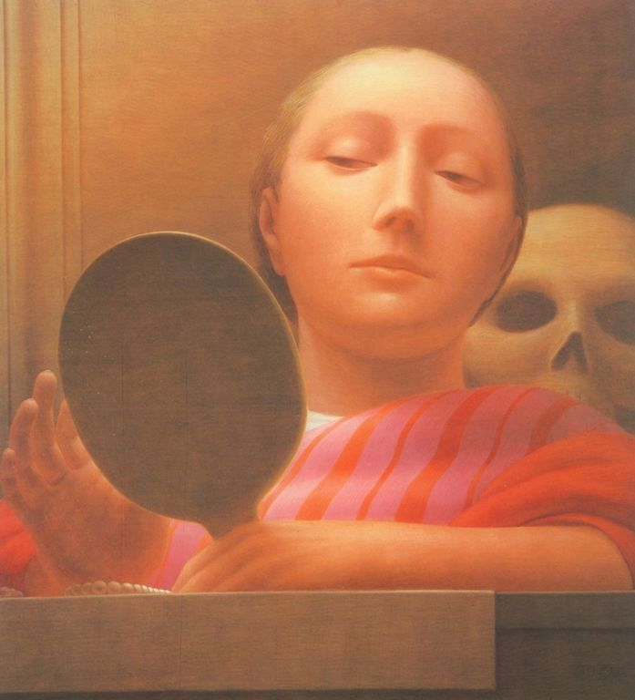 George Clair Tooker 1920-2011 - American Magic Realist painter - Tutt'Art@ (9) [1280x768]