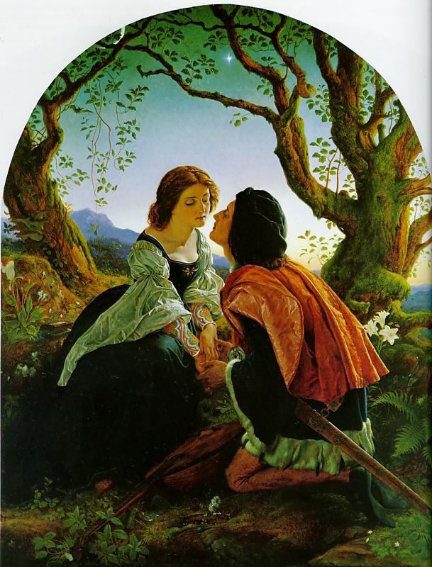 Joseph Noel Paton -« Hesperus »