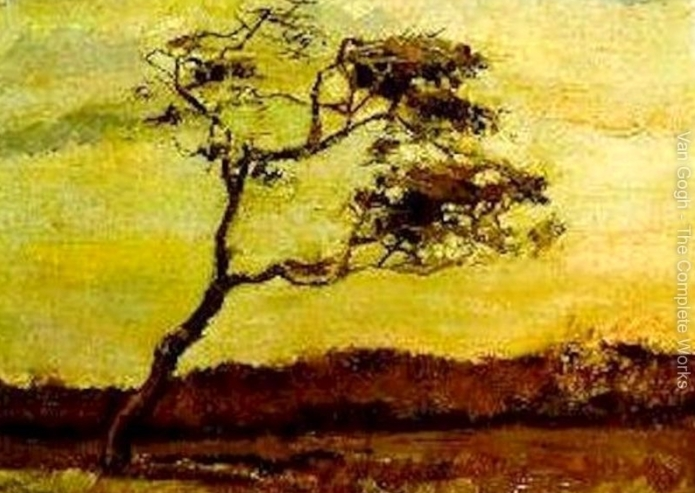 Vincent Van Gogh  Wind-Beaten-Tree-A-large