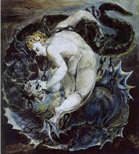 William Blake   - Evil