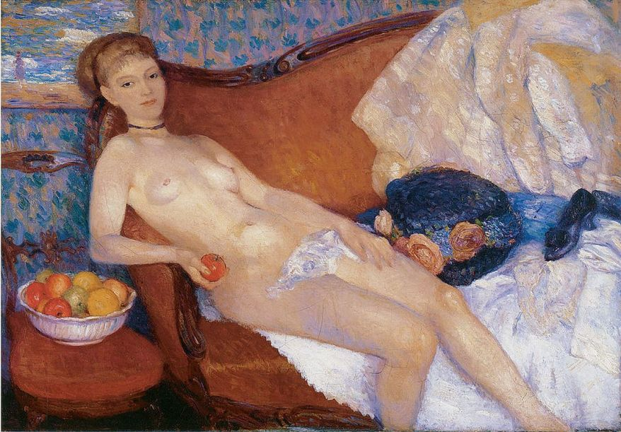 William Glacken nude-with-apple-s [1280x768]