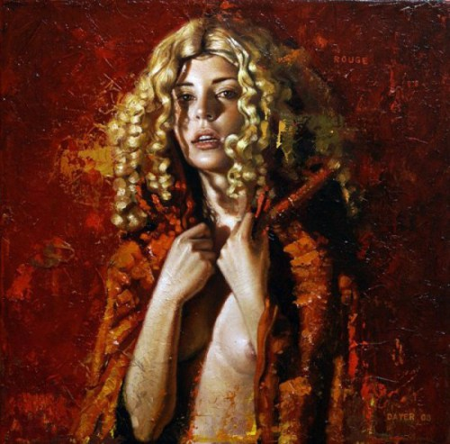 Diego Dayer rouge