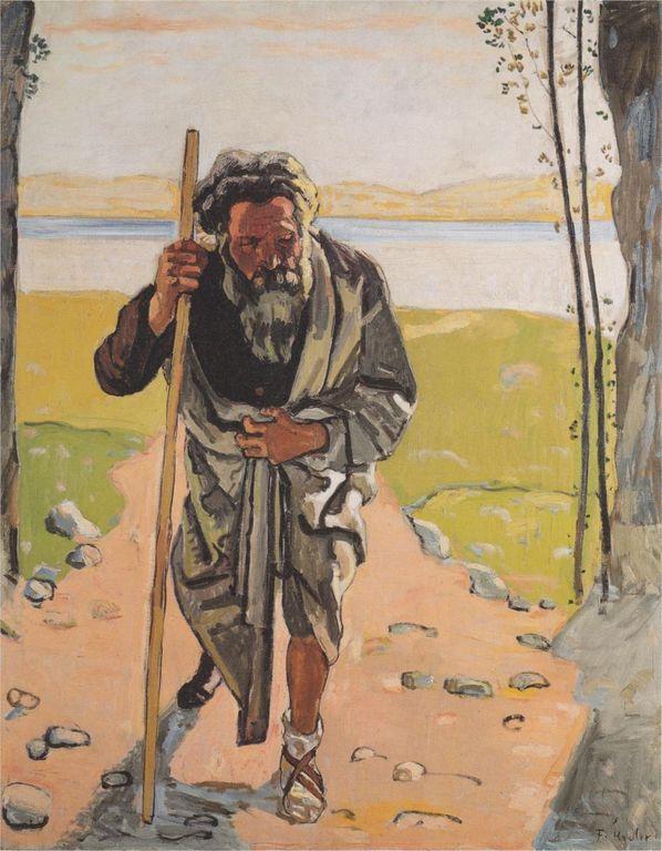 Ferdinand Hodler ahasver-1910.jpg!HD [1280x768]