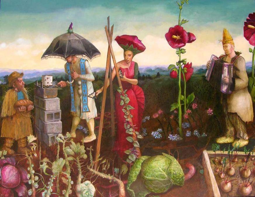 Henryk Fantazos   Strangers in My Garden [1280x768]