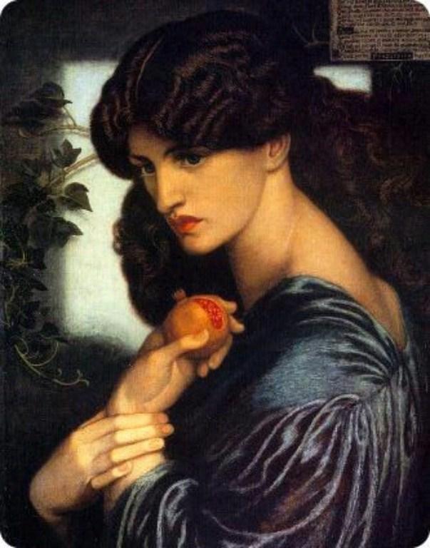 Hunt Rossetti Proserpine