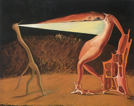 Victor Brauner  -_le_ver_luisant_1933