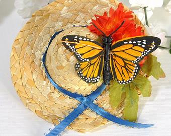 chapeau papillon