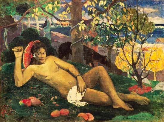 Paul Gauguin  te_arii_vahine