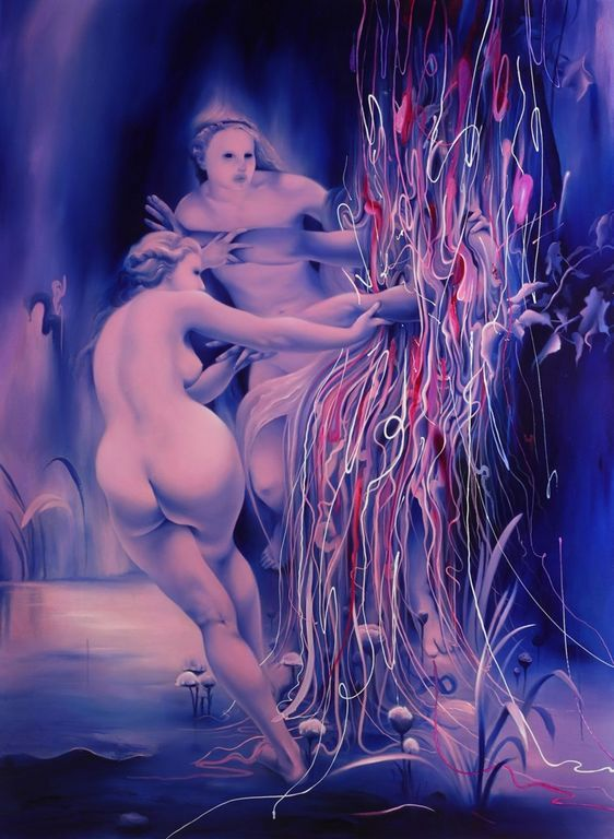 Michael Page 1979 - American Pop Surrealism painter -  (13) [1280x768]