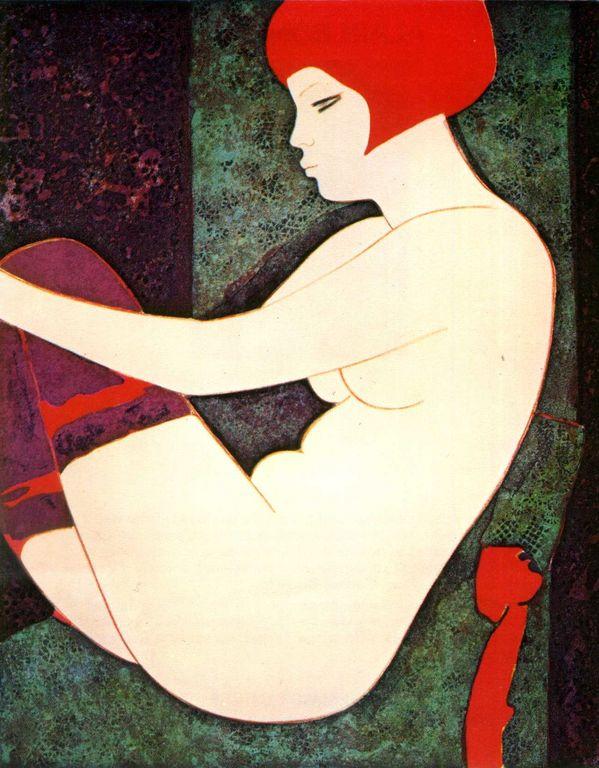 Alain Bonnefoit  La femme Rousse [1280x768]