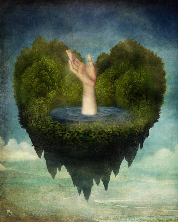 Christian Schloe - Austrian Surrealist Digital painter -