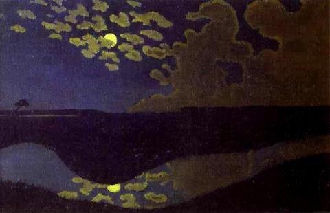 Félix Vallotton   claire-de-lune-1895