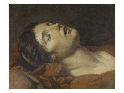 Jean Charles Nicaise Perrin  -tete-de-jeune-femme-morte-n-7230539-0